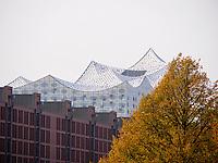 Elbphilharmonie und Speicherstadt, Hamburg, Deutschland, Europa, UNESCO-Weltkulturerbe<br /> Elbphilharmonie and Speicherstadt, Hamburg, Germany, Europe, UNESCO world heritage