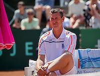 Zandvoort, Netherlands, 05 June, 2016, Tennis, Playoffs Competition, Coach Zandvoort: Burgersdijk<br /> Photo: Henk Koster/tennisimages.com