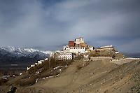 Thiksey Monastery at dawn, Ladakh