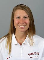 Anna Yelizarova a member of Stanford women's water polo team. Photo taken Tuesday, September 25, 2012. ( Norbert von der Groeben )