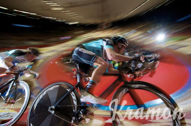 Iljo Keisse (BEL) & Wim Stroetinga (NLD) in a speed lap<br /> <br /> Gent6 2013