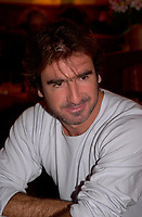 August 27,  2003, Montreal, Quebec, Canada<br /> <br /> Eric Cantona, the French soccer star-turned-screen actor attend the Montreal World Film Festival for the international premiere of his latest film, The Overeater (L'Outremangeur.<br /> )The  film i's showing in the Festival's Out of Competition section. <br /> <br /> The Festival runs from August 27th to september 7th, 2003<br /> <br /> <br /> Mandatory Credit: Photo by Pierre Roussel- Images Distribution. (©) Copyright 2003 by Pierre Roussel