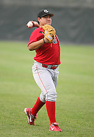 2007:  Moises Melendez of the Williamsport Crosscutters, Class-A affiliate of the Philadelphia Phillies, during the New York-Penn League baseball season.  Photo By Mike Janes/Four Seam Images