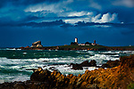 Piedras Blancas Lighthouse, California ©.2019 James D Peterson.  It was a stormy winter day along the central coast of California, but the weather broke long enough to give us this beautifully sunny scene a few miles north of San Simeon.
