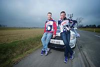 Kuurne-Brussel-Kuurne 2012<br /> Lotto-Belisol soigneurs Raoul Saren & Marc Van Gyseghem
