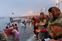 The Kumbh Mela, a Hindu festival in Allahabad India, occurs every twelve years. In 2013 about 120 million people attended the festival, with 30 million arriving in one day alone, estimating it to be the largest mass gathering of humanity ever. Religious pilgrims and sadhus (holy men) come from all over India, risking the inevitable stampedes, simply for the auspicious act of taking a bath in the holy waters of the sacred Ganges River. Unfortunately, the cleanliness of the river is not as pure as the intent of the religious act itself: the Ganges is the fifth most polluted river in the world.