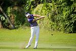 Daniel Im of USA plays an approach shot during the 58th UBS Hong Kong Golf Open as part of the European Tour on 11 December 2016, at the Hong Kong Golf Club, Fanling, Hong Kong, China. Photo by Vivek Prakash / Power Sport Images
