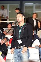 Der gesperrte Timo Gebhardt (D)auf der Tribuene<br /> Deutschland vs. Tschechien, U21 EM-Qualifikation *** Local Caption *** Foto ist honorarpflichtig! zzgl. gesetzl. MwSt. Auf Anfrage in hoeherer Qualitaet/Aufloesung. Belegexemplar an: Marc Schueler, Alte Weinstrasse 1, 61352 Bad Homburg, Tel. +49 (0) 151 11 65 49 88, www.gameday-mediaservices.de. Email: marc.schueler@gameday-mediaservices.de, Bankverbindung: Volksbank Bergstrasse, Kto.: 151297, BLZ: 50960101