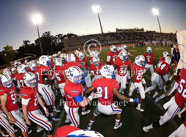 St. Aug downs John Curtis, 15-13, in football action at Tad Gormley Stadium in New Orleans.