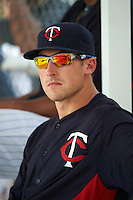 Minnesota Twins A.J. Murray (31) during an instructional league game against the Boston Red Sox on September 26, 2015 at CenturyLink Sports Complex in Fort Myers, Florida.  (Mike Janes/Four Seam Images)
