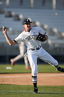 February 21, 2009:  Third baseman Nick Ahmed (6) of the University of Connecticut during the Big East-Big Ten Challenge at Jack Russell Stadium in Clearwater, FL.  Photo by:  Mike Janes/Four Seam Images