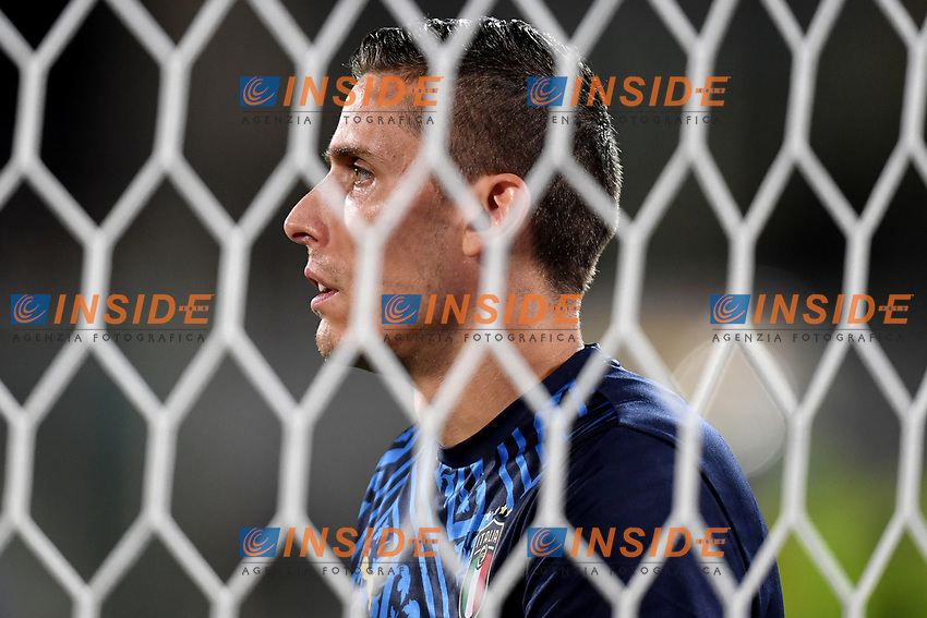 Marco Silvestri of Italy warms up prio to the friendly football match between Italy and Moldova at Artemio Franchi Stadium in Firenze (Italy), October, 7th 2020. Photo Andrea Staccioli/ Insidefoto