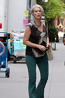 NEW YORK, NY-  JULY 15: Cynthia Nixon on the set of the HBOMax series 'And Just Like That' in New York City on July 15, 2021.<br /> CAP/MPI/RW<br /> ©RW/MPI/Capital Pictures