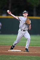 March 13, 2010:  Infielder Tyler Begun (15) of the Akron Zips vs. the Yale Bulldogs in a game at Henley Field in Lakeland, FL.  Photo By Mike Janes/Four Seam Images