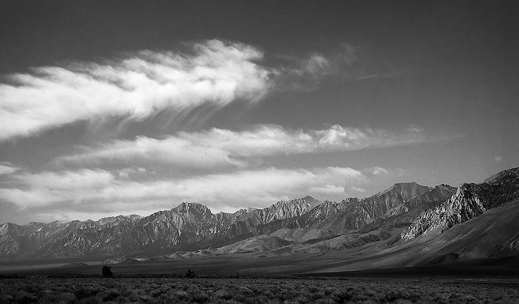 Eastern Sierras north of Lone Pine