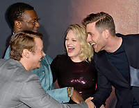 "LOS ANGELES, CA: 24, 2020: Michae Dorman, Aldis Hodge, Elisabeth Moss & Oliver Jackson-Cohen at the premiere of ""The Invisible Man"" at the TCL Chinese Theatre.<br /> Picture: Paul Smith/Featureflash"