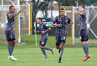 BOGOTA – COLOMBIA, 29-10-2020: Tigres FC y Deportivo Pereira en partido de vuelta de la tercera ronda clasificatoria como parte de la Copa BetPlay DIMAYOR 2020 jugado en el estadio Metropolitano de Techo de la ciudad de Bogotá. / Tigres FC and Deportivo Pereira in the second leg of the third qualifying round as part of the 2020 BetPlay DIMAYOR Cup played at the Metropolitano de Techo stadium in the city of Bogota. Photos VizzorImage / Daniel Garzon / Cont