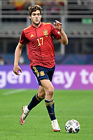 Marcos Alonso of Spain in action during the Uefa Nations League final match between Spain and France at San Siro stadium in Milano (Italy), October 10th, 2021. Photo Andrea Staccioli / Insidefoto
