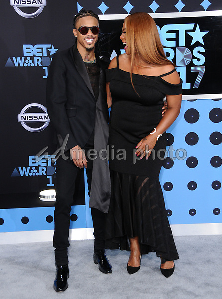 25 June 2017 - Los Angeles, California - Queen Latifah. 2017 BET Awards held at the Microsoft Square in Los Angeles. Photo Credit: Birdie Thompson/AdMedia