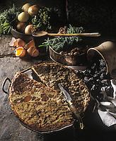 """Europe/France/Auvergne/15/Cantal/Salers: Le """"Pounti Auvergnat"""" - Recette de Mme Caby du restaurant """"Les Remparts"""""""