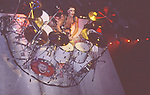 Tommy Lee of Motley Crue at Madison Square Garden Aug 1985. Tommy Lee