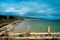 Golspie Beach and its old Pier, Golspie, Sutherland