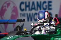 July 4th 2021; Red Bull Ring, Spielberg, Austria; W-Series F1 Grand Prix of Austria, race day;   Jamie Chadwick Veloce Racing  celebrates her W-Series win in parc ferme