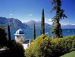 ITA, Italien, Lombardei, Comer See, Bellagio: Pavillon im Park der Villa Melzi | ITA, Italy, Lombardia, Lake Como, Bellagio: Pavilion at the park of Villa Melzi
