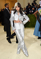 """Kehlani attends The Metropolitan Museum of Art's Costume Institute benefit gala celebrating the opening of the """"In America: A Lexicon of Fashion"""" exhibition on Monday, Sept. 13, 2021, in New York. (Photo by Evan Agostini/Invision/AP)"""