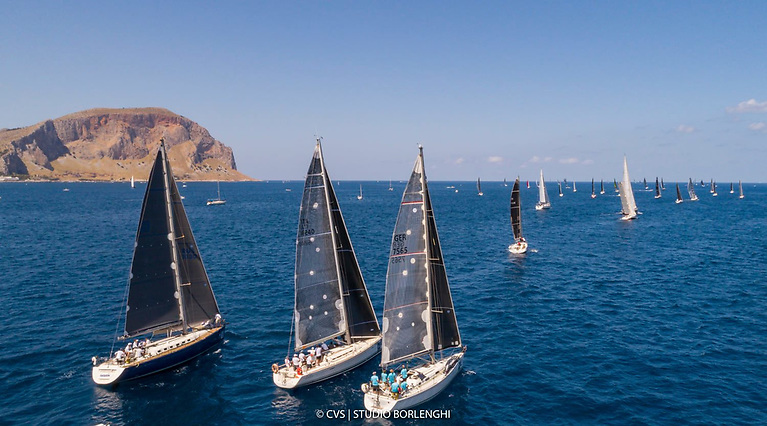 The start of the Palermo to Montecarlo Race in which Ireland's XP 50 Freya was fifth on IRC rating. Next up for skipper Conor Doyle and the Kinsale crew is October's Middle Sea Race in Malta