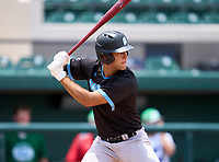 West Broward Bobcats Juan Pablo Correa (7) during the 42nd Annual FACA All-Star Baseball Classic on June 5, 2021 at Joker Marchant Stadium in Lakeland, Florida.  (Mike Janes/Four Seam Images)