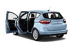2013 Ford C Max Hybrid SEL Mini MPV Doors Stock Photo