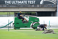 Wicket preparations ahead of the 'ultimate test' during a training session ahead of the ICC World Test Championship Final at the Ageas Bowl on 17th June 2021