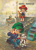 Alfredo, CHILDREN, paintings, BRTOVE0015,#K# Kinder, niños, nostalgisch, nostálgico, illustrations, pinturas