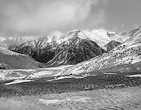 """""""The Brooks Range"""" <br /> Alaska <br /> <br /> The Brooks Range is a magnificent mountain range above the Arctic Circle in Alaska. This photo shows the cold, powerful beauty of these mountains."""