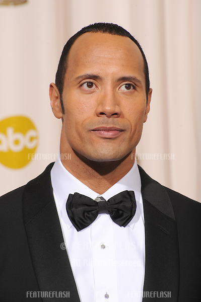 """Dwayne """"The Rock"""" Johnson at the 80th Annual Academy Awards at the Kodak Theatre, Hollywood..February 24, 2008 Los Angeles, CA.Picture: Paul Smith / Featureflash"""