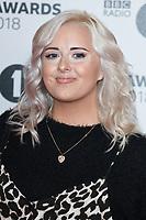 Kate Thistleton<br /> arriving for the Radio 1 Teen Awards 2018 at Wembley Stadium, London<br /> <br /> ©Ash Knotek  D3454  21/10/2018