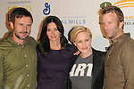 David Arquette & Courteney Cox,Patricia Arquette & Thomas Jane at The Rock a Little ,Feed a lot benefit concert to support the L.A. Regional Food Bank & Feeding America held at Club Nokia in Los Angeles, California on September 29,2009                                                                   Copyright 2009 DVS / RockinExposures