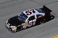Feb 07, 2009; Daytona Beach, FL, USA; NASCAR Sprint Cup Series driver Norm Benning during practice for the Daytona 500 at Daytona International Speedway. Mandatory Credit: Mark J. Rebilas-