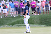 14th March 2021; Ponte Vedra Beach, Florida, USA;  Paul Casey of England reacts after missing a putt on the 2nd hole during the final round of THE PLAYERS Championship on March 14, 2021 at TPC Sawgrass Stadium Course in Ponte Vedra Beach, Fl.
