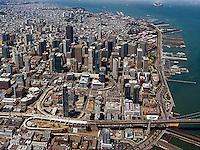 aerial photograph Transbay San Francisco, California