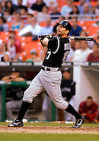 14 June 2006: Todd Helton, first baseman for the Colorado Rockies, in action against the Washington Nationals in Washington, DC. The Rockies defeated the Nationals 14-8 in front of 24,273 fans at RFK Stadium...Mandatory Photo Credit: Ed Wolfstein Photo...