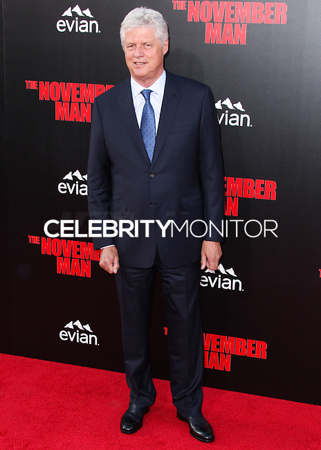 HOLLYWOOD, LOS ANGELES, CA, USA - AUGUST 13: Roger Donaldson at the World Premiere Of Relativity Media's 'The November Man' held at the TCL Chinese Theatre on August 13, 2014 in Hollywood, Los Angeles, California, United States. (Photo by Xavier Collin/Celebrity Monitor)