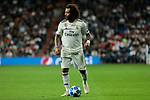 Real Madrid's Marcelo Vieira during UEFA Champions League match between Real Madrid and FC Viktoria Plzen at Santiago Bernabeu Stadium in Madrid, Spain. October 23, 2018. (ALTERPHOTOS/A. Perez Meca)