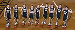 The 2014-15 Tuscola Warrior Boys Basketball Seniors. From left are Jarrett Wallace, Tommy Watson, Josh Knight, Patrick Poskin, Blake Woodard, Stephen Gibson, Zach Bates, David Manselle, and Clayton Turner.