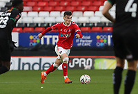 Dylan Levitt of Charlton Athletic during Charlton Athletic vs Plymouth Argyle, Emirates FA Cup Football at The Valley on 7th November 2020