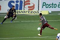 Santos (SP), 21.02.2020 - Santos-Fluminense - O jogador Lucca marca gol. Partida entre Santos e Fluminense valida pela 37. rodada do Campeonato Brasileiro neste domingo (21) no estadio da Vila Belmiro em Santos.