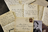 BNPS.co.uk (01202) 558833. <br /> Pic: ReemanDansieAuctions/BNPS<br /> <br /> Letters that show Florence Nightingale struggled after caring for her own mother before her death have emerged for sale 133 years later.<br /> <br /> The 'Lady with the Lamp' and founder of modern nursing wrote about holding her mother Frances while she had some sort of seizure for five hours.<br /> <br /> In another letter six months later she tells her friend that she had to take a three-week break after her mother's death but doctors were advising her she needed more time off.