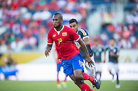 Orlando, Florida - Saturday, June 04, 2016: Costa Rican defender Kendall Watson (19) runs after a ball played over him during a Group A Copa America Centenario match between Costa Rica and Paraguay at Camping World Stadium.
