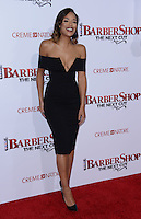 Sarah Jane Crawford @ the premiere of 'Barber Shop The Next Cut' held @ the Chinese theatre.<br /> April 6, 2016